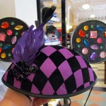 new 'jeweled' fans hat with feather