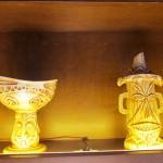 Tiki mug and bowl