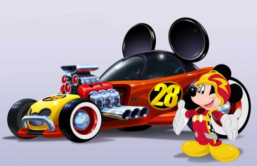 MickeyRoadsterRacers_car