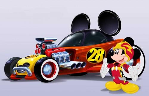 MickeyRoadsterRacers_car