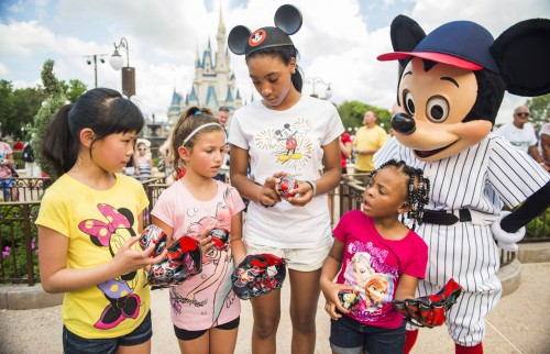 Mo'ne Davis Visits Walt Disney World