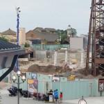 Work continues near old Pleasure Island area