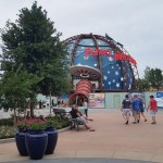 Landscaping and Planet Hollywood