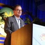 Walt Disney World president George Kalogridis at Coolest Summer Ever event