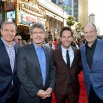Disney CEO Bob Iger, Alan Horn, Paul Rudd, Kevin Fiege,