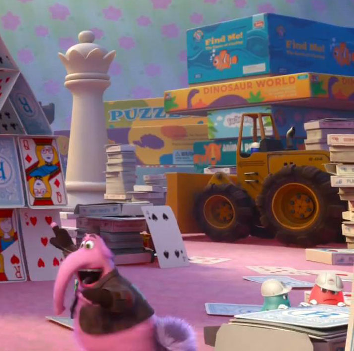 """Inside Out 2015 Film: Easter Eggs And Other Hidden Tributes In Pixar's """"Inside"""