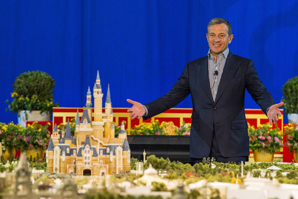 Bob-Iger-and-Shanghai-Disneyland-demo