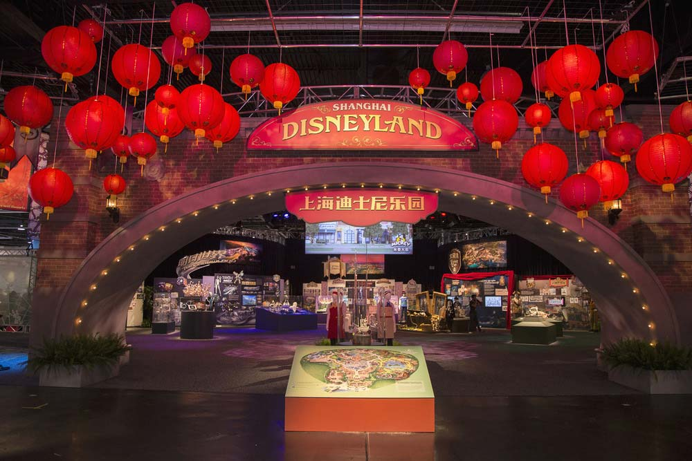 D23 expo first look at shanghai disneyland exhibits for King s fish house anaheim