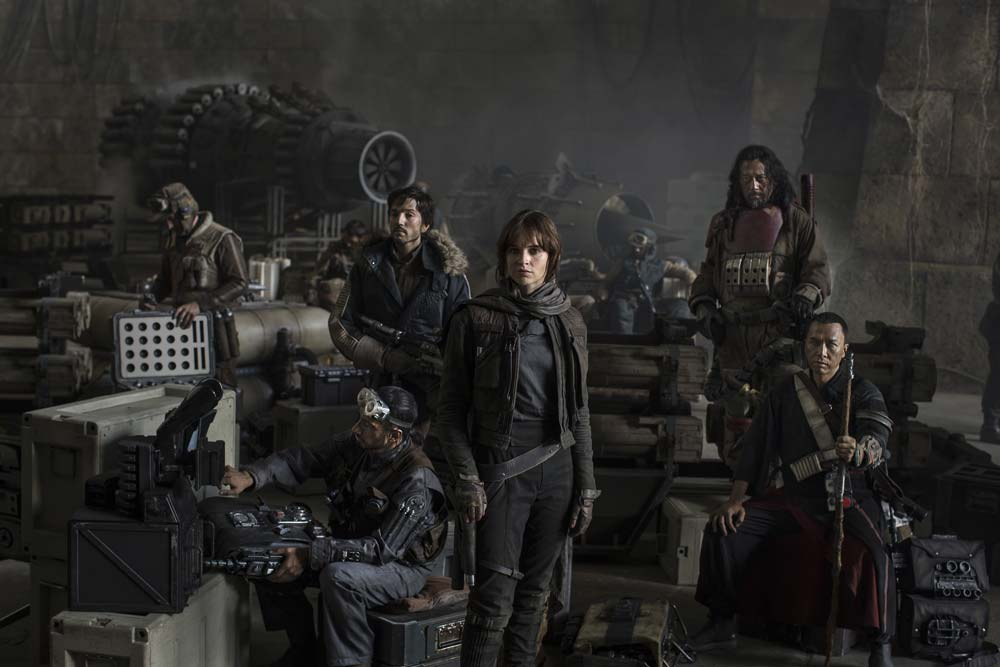 Star Wars Rogue One will be the first Star Wars Stories movie.