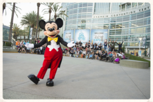 Mickey Mouse D23 Expo