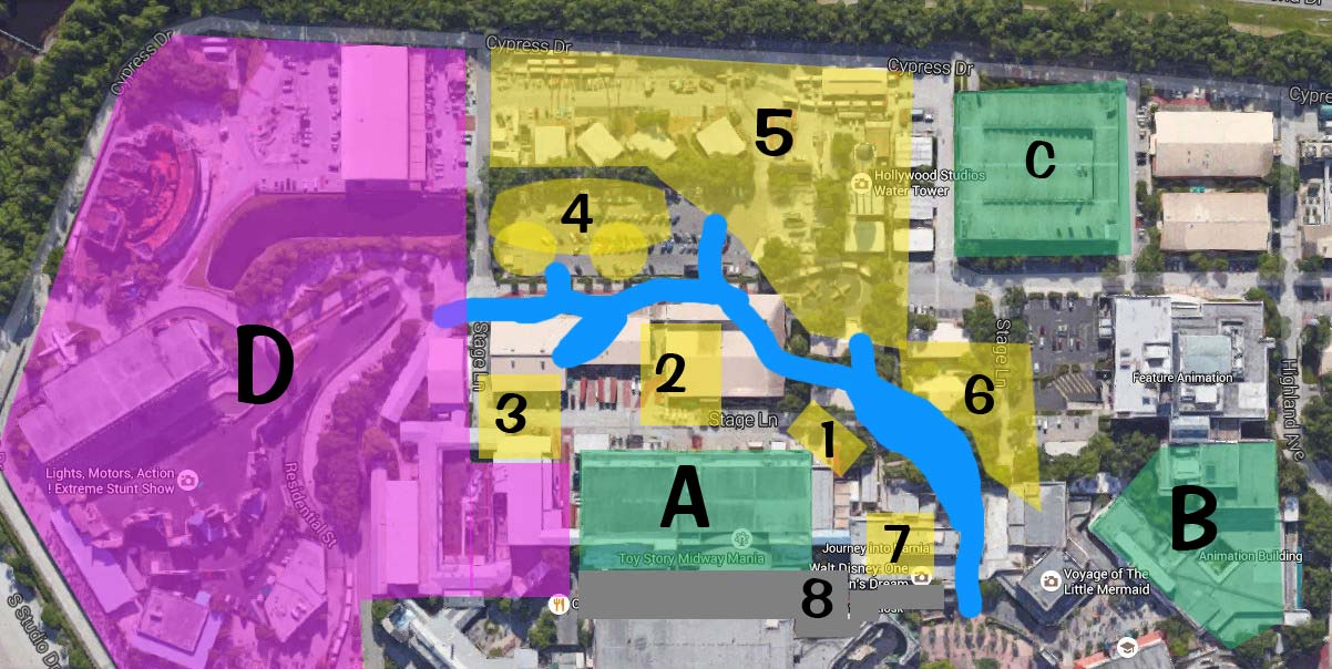 My Attempt At A Toy Story Land Expansion Map The Disney Blog
