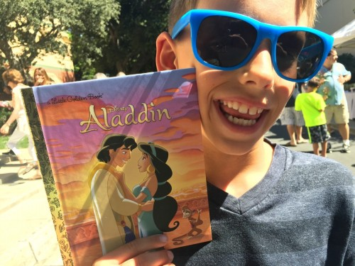 Zane Honea at Walt Disney Studios for Aladdin Release Event