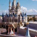 Another look across the roofs of Fantasyland and a great look at Cinderella Castle