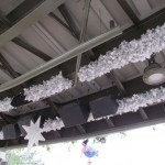 Under the 'highline' is decorated