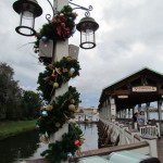 The handmade Christmas decor starts at the Ferry Dock