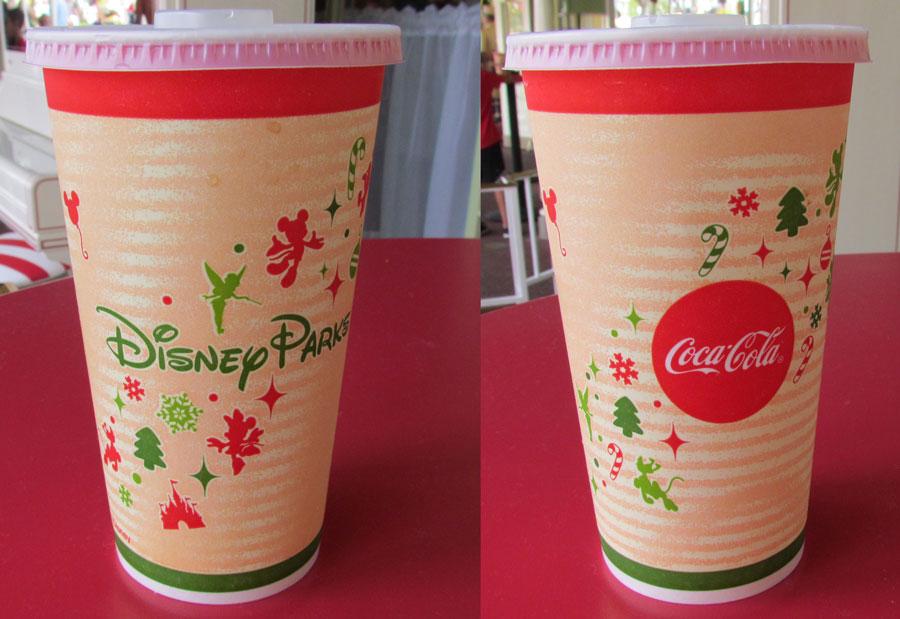 Disney Parks Christmas Cups