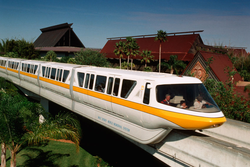 Disney press photo of Monorail Orange