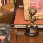 "Mousecar award from Walt Disney's ""formal office."""