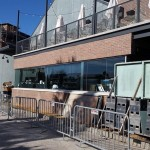 Open kitchen at Morimoto Asia revealed behind construction walls