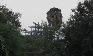 View from Harambe Village near The Lion King