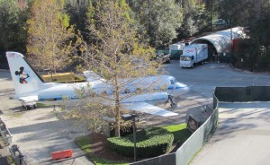 Walt's jet is also in the 'construction zone.' We're all worried about what will become of it.