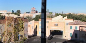 A look out over the skyline of DHS as it exists today