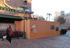 Also closed are the restrooms attached to Pizza Planet
