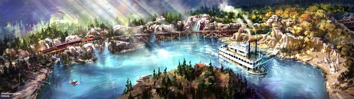 disneyland-new-river