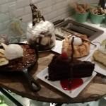 Dessert selections