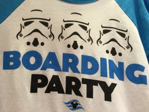 Star Wars Day at Sea shirt