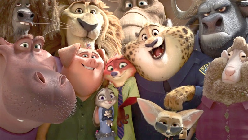 Zootopia-group-selfie
