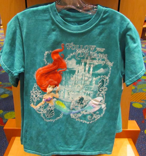 Merchandise Spotlight New Princess T Shirts At World Of