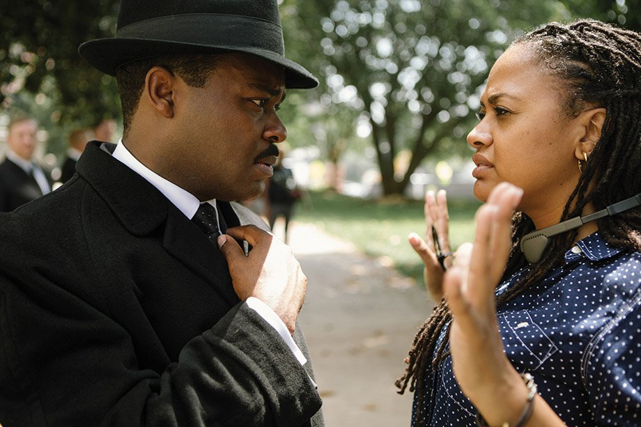 """Selma"" director DuVernay (R). Courtesy Paramount Pictures"