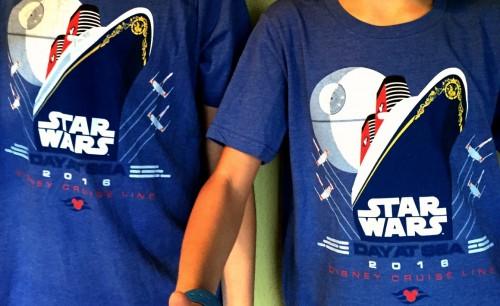 Star Wars Day at Sea t-shirts