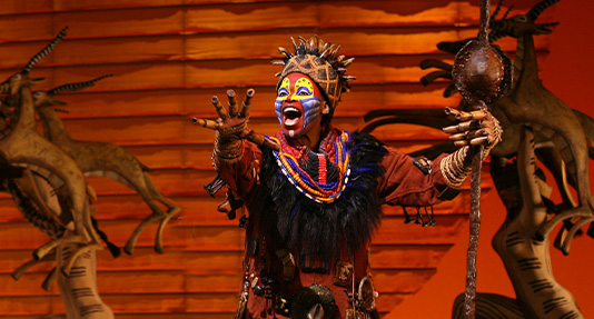 rafiki-disney-broadway & Anatomy of Rafikiu0027s costume from Disneyu0027s The Lion King Musical ...