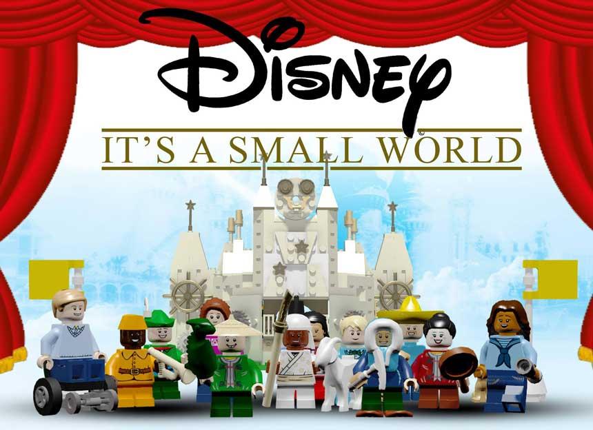 small-world-lego-model