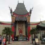 The beautiful facade of The Great Movie Ride