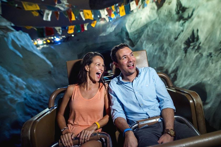 Expedition Everest at Night at Disney's Animal Kingdom