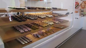A wide selection of cupcakes and treats