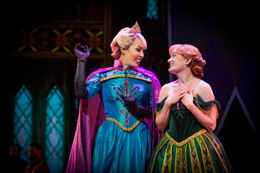 Disneyland Assembles Color Blind Cast For New Frozen