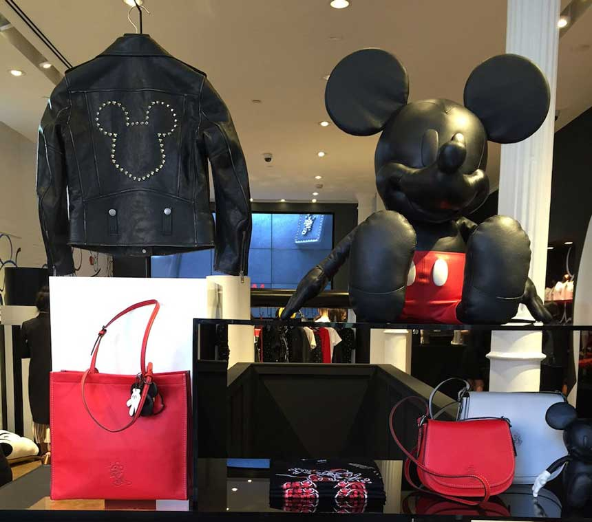 Disney Coach Debut Mickey Mouse Fashion Collection Disneyxcoach on Modern House Sketches