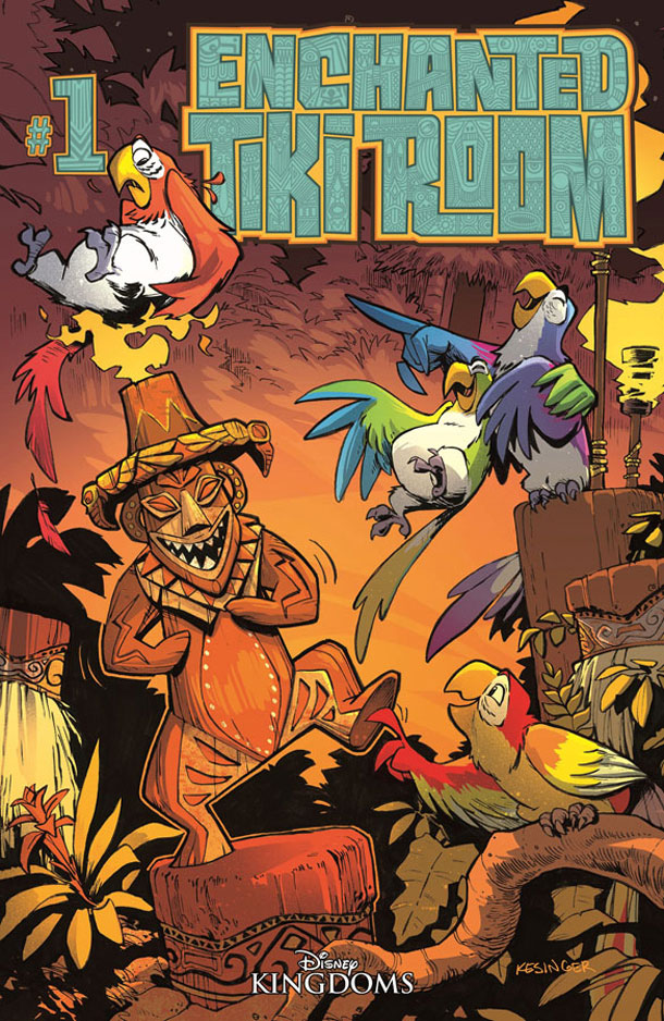 Enchanted Tiki Room Comic The Disney Blog