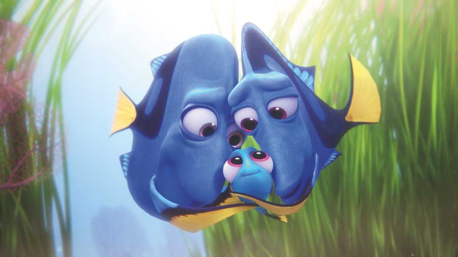 Squeee! Baby Dory is the cutest!