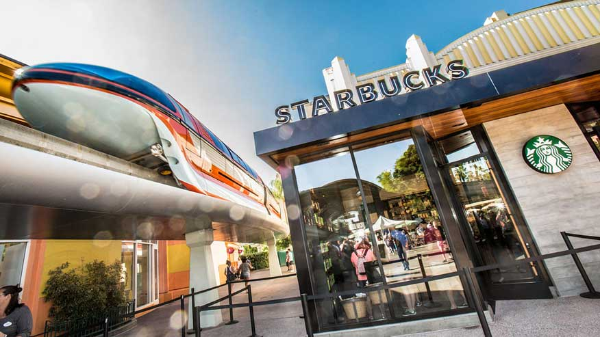 Second Starbucks store now brewing in Downtown Disney district at Disneyland