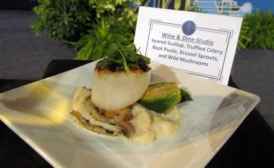 Epcot 2016 food and wine festival marketplace menus released the epcot food wine 2016 scallops forumfinder Gallery