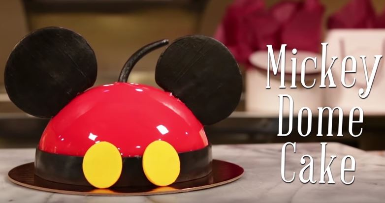 mickey-dome-cake