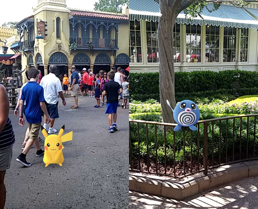 Image result for Walt Disney World, Orlando, Florida pokemon go