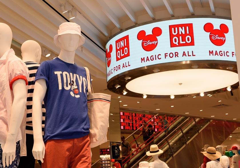 Uniqlo Opens Doors At Disney Springs The Disney Blog