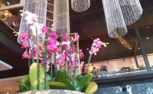 but also beautiful floral and sculptural elements