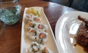 Sushi Roll Presentation
